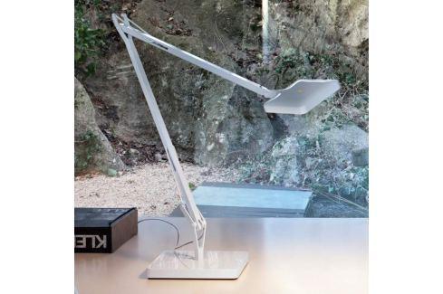 FLOS Kelvin Edge - weiße LED-Schreibtischlampe