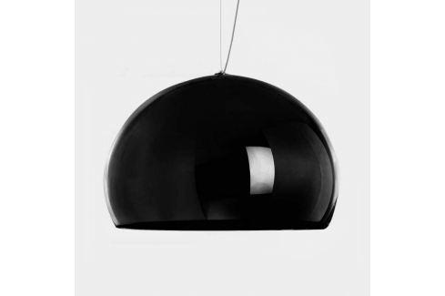 Kartell FL/Y - LED-Pendellampe, schwarz glänzend