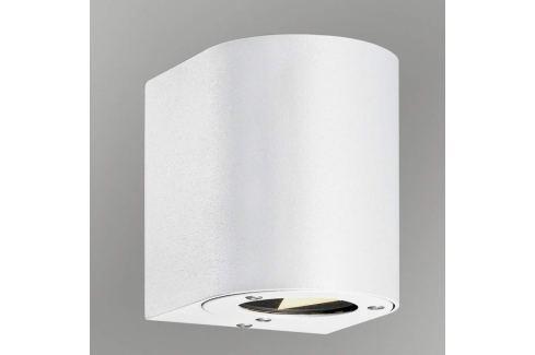Canto - wandelbare LED-Außenwandleuchte, weiß