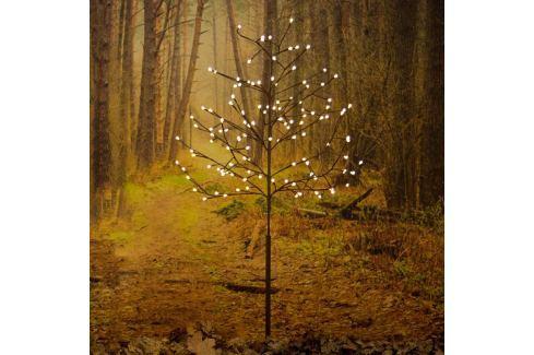 Brauner LED-Außen-Lichterbaum 100 cm 96-flg.