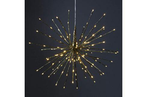 LED-Dekoleuchte Firework, 5 Lichtvarianten, gold