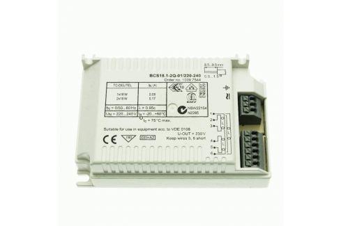 EVG 1/2 x 18 W TC-DEL/TEL BCS18.1-2Q-01/220-240