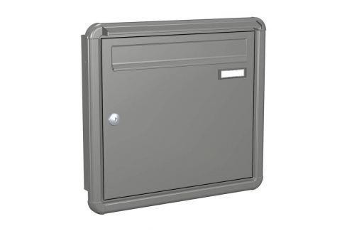 Briefkasten Express Box Up 120 graualuminium