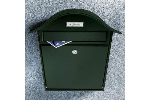Grüner Briefkasten Holiday 5842 aus Stahl