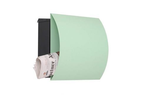 Ansprechend gestalteter Briefkasten Vegas - grün