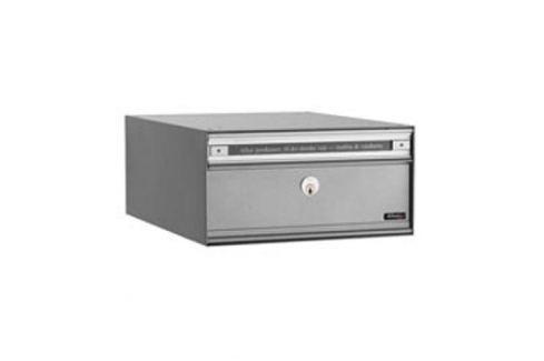 Erweiterbarer Briefkasten PC1, grau