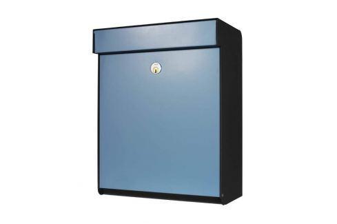 Blauer Briefkasten Grundform