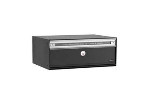 Hochwertiger Briefkasten PC2, schwarz