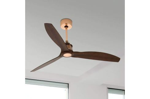 Deckenventilator Just Fan kupfer walnuss