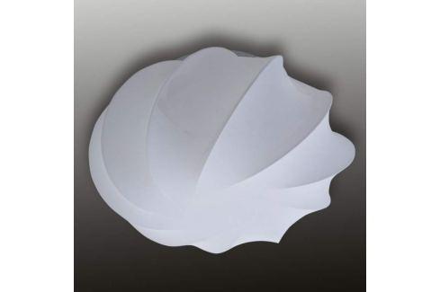 Textil-Deckenleuchte Glo 60 cm in Weiß