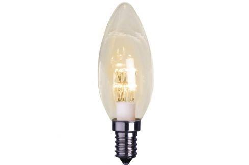 E14 0,9W LED-Kerzenlampe, klar, 2100K