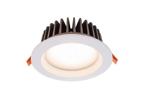 Warmweiße LED-Deckeneinbauleuchte COB130 18 W