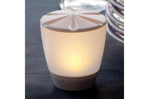Formschöne LED-Solartischleuchte Turner