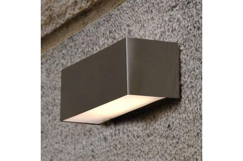Rechteckige LED-Außenwandleuchte Nomaa IP44