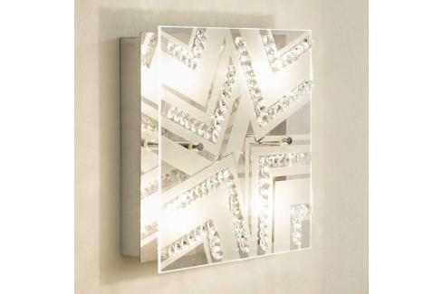 Kristall-Deckenleuchte Tibor mit LED