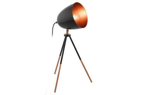 Dreibeinige Tischlampe Chester im Vintage-Look