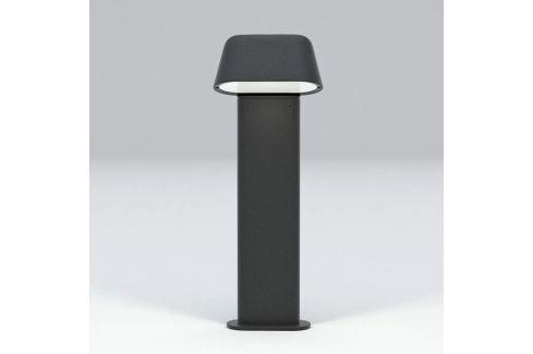 Moderne Sockelleuchte Sentinel dunkelgrau