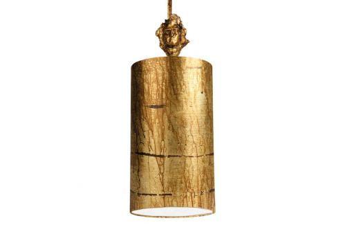 Fragment Gold - handdekorierte Pendelleuchte