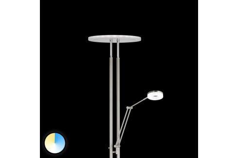 LED-Deckenfluter Shine mit wählbarer Lichtfarbe