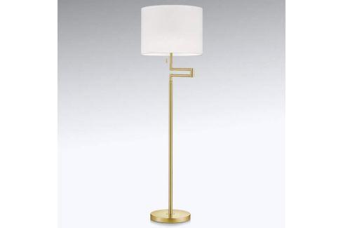 Ausrichtbare LED-Stehlampe Lilian, messing matt