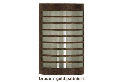 TERU - Wandleuchte braun/gold patiniert