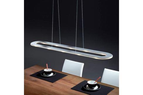 Helestra Sima - LED-Edelstahl-Hängeleuchte, oval