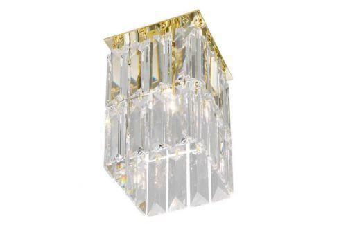 Kolarz Prisma - goldene Kristall-Deckenleuchte