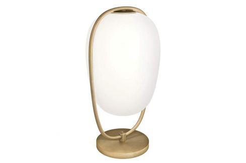 Kundalini Lanna Tischlampe m. mundgeblasenem Glas