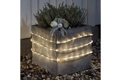 LED-Lichtschlauch 9m außen Sensor 144 flg. ww Batt