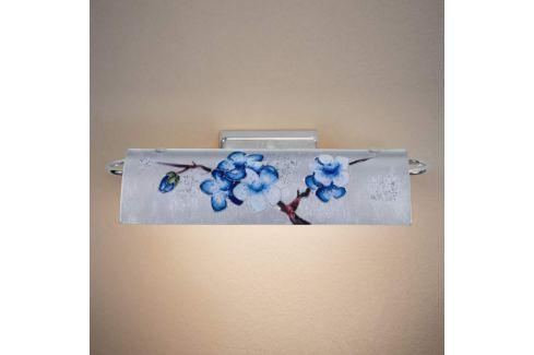 Kolarz Bankers - blumenverzierte LED-Wandlampe