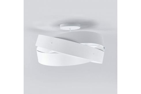 Tornado - formschöne Deckenlampe in Weiß