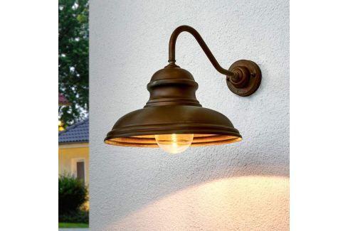 Wandlampe ALESSIA in Messing antik