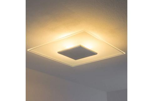 Dimmbare LED-Deckenleuchte Lole aus Glas