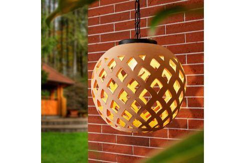 Außen-Hängeleuchte Salina mit Keramikschirm